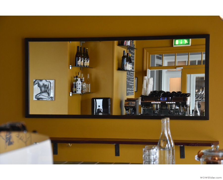 There are plenty of neat touches in Mikki Refur, including this mirror...