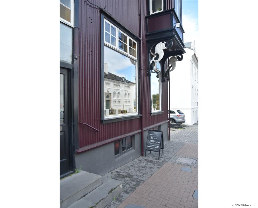 ... Mikki Refur, a speciality coffee and wine bar.