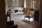 Although it looks like a lovely lounge through the door, it's the design store, Norr11.