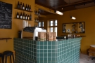 The left-hand side of the counter is the preserve of the coffee side of Mikki Refur.