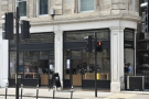 Rosslyn Coffee on Queen Victoria Street, as seen on a summer's day in 2021.