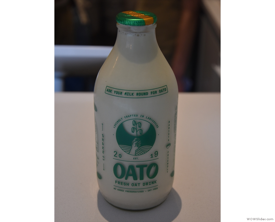 This was the first time I'd had Oato oat milk...