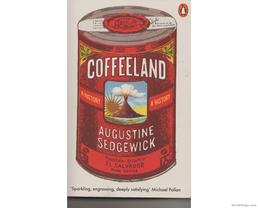 The cover of Coffeeland by Augustine Sedgewick.