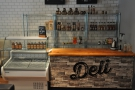 ... but by August that year, it had been replaced by this deli counter.