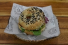 ... to your table when it's ready. This was my halloumi (and avocado) bagel...
