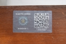 ... another COVID-19 precaution: ordering is now done online by scanning a QR Code.