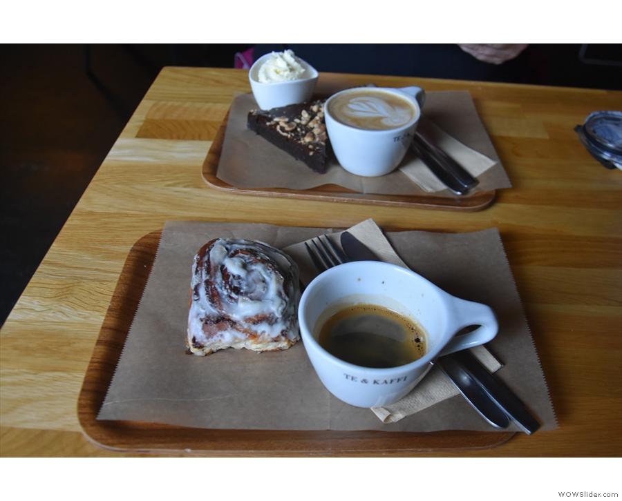 It wasn't just breakfast though. We tried another Te & Kaffi on Aðalstræti...