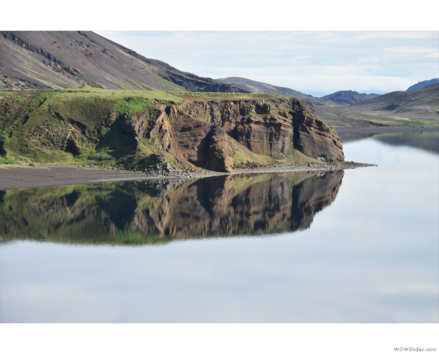 ... impressed, he even started taking pictures on his phone! For me, the reflections were...