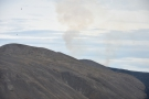 The second plume on the right was from one of the new surface lava flows.
