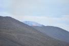 We still couldn't see the crater, but the lava was more prominent.