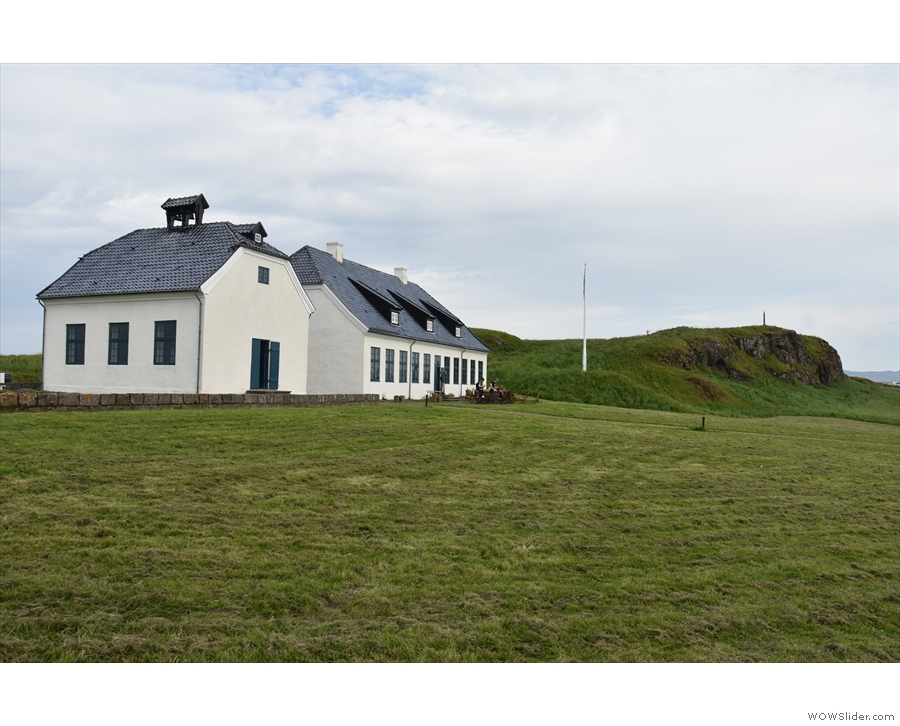 Time to say goodbye to the church and Viðey House.