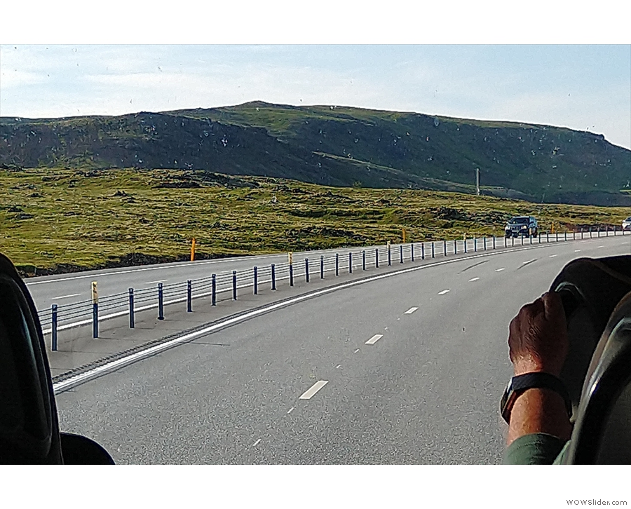 Route 1 is Iceland's main road and goes all the way around the island.