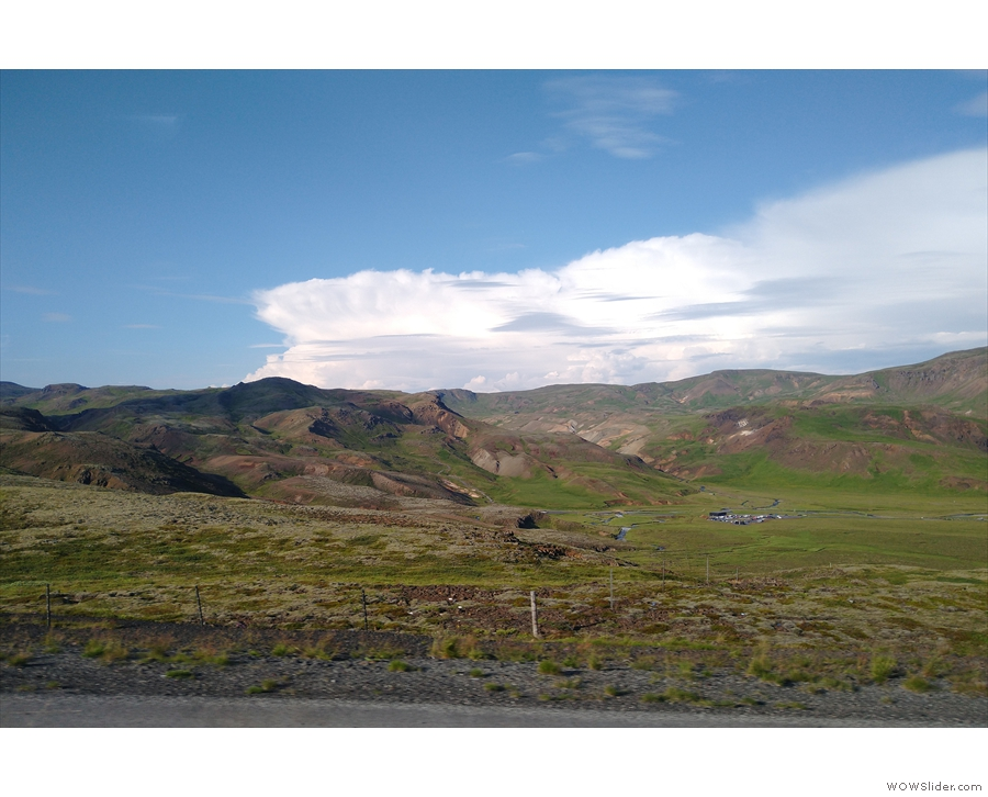 This was a surprisingly green part of Iceland...