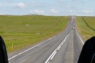 The broad, flat-bottomed Icelandic valleys make for some very straight roads though!