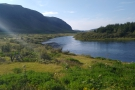 We were on Route 35, following the Ölfusá river on its way to Selfoss...