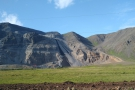 A rare quarry in the mountains west of Selfoss.