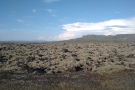 However, as we got closer, the new lava flows returned, with their weird formations...