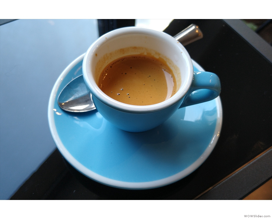 However, I'll leave you with the star of the show, my gorgeous espresso.