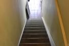 ... go back down. Why do stairs always look steeper when you are heading down them?