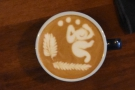 ... The Gentlemen Baristas, Holborn. As you can see, he's a regular UK Latte Art competitor.