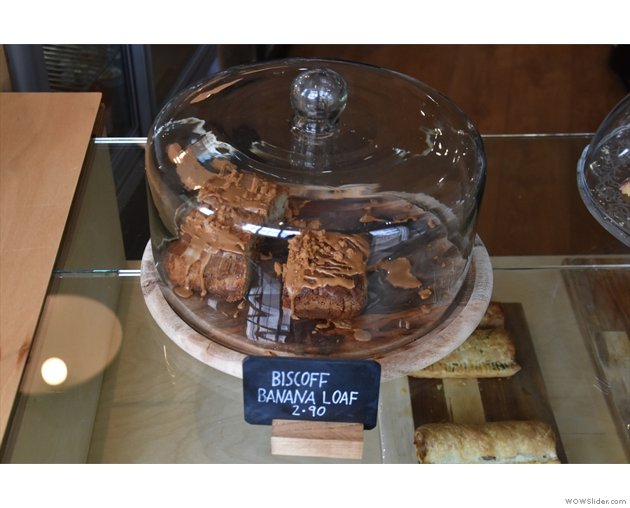 My eye was drawn to this one, the Biscoff Banana Loaf...