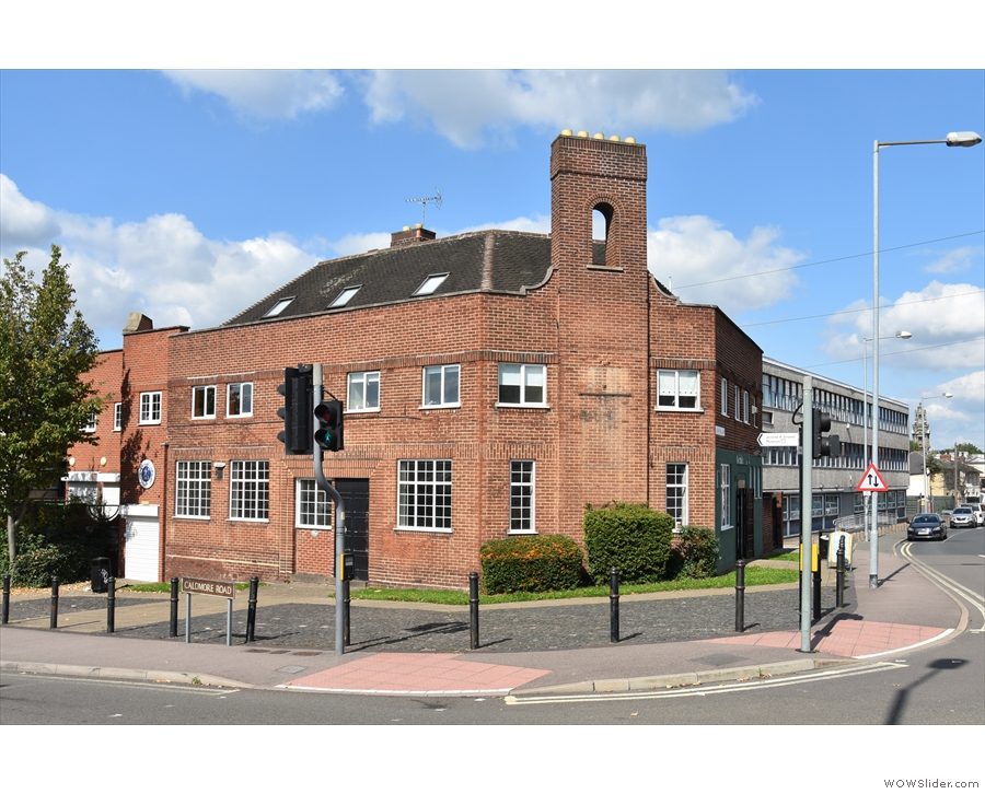 On a sunny corner in the centre of Walsall is this interesting building, seen here during...