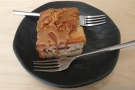 ... so Amanda and I had a slice to share.