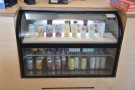 ... and soft drinks (chiller cabinet by the till)...