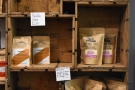 There's plenty of coffee from house roaster, Poblado Coffi...