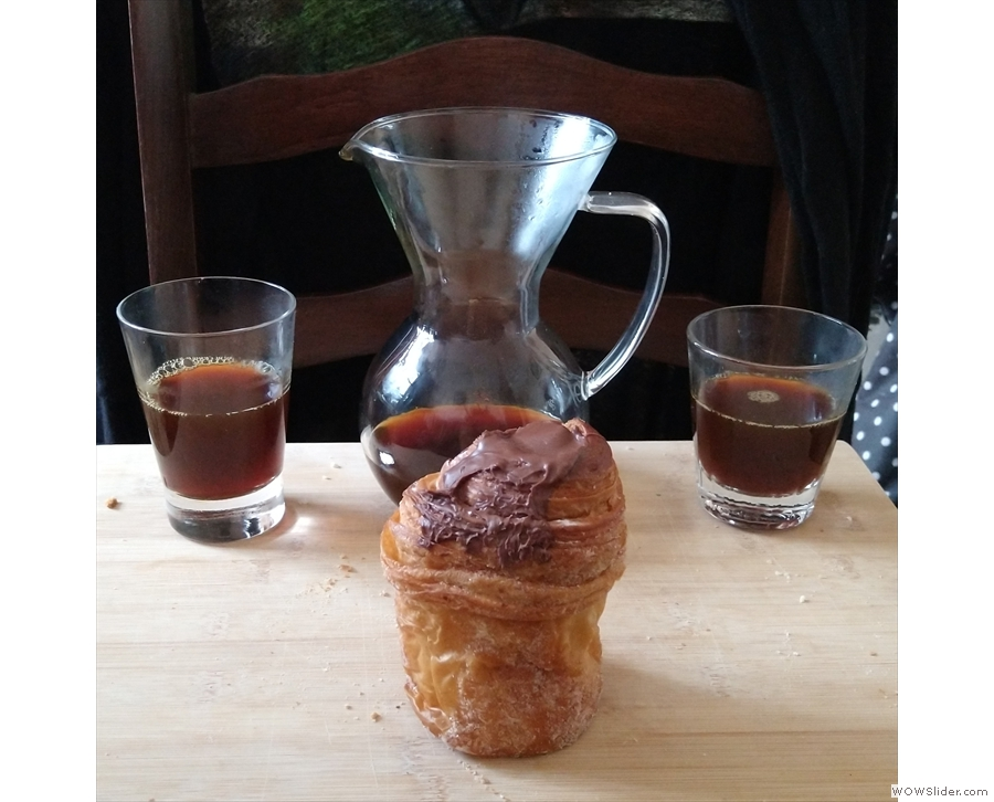 And finally, we saved a Nutella cruffin to have with some coffee at home.
