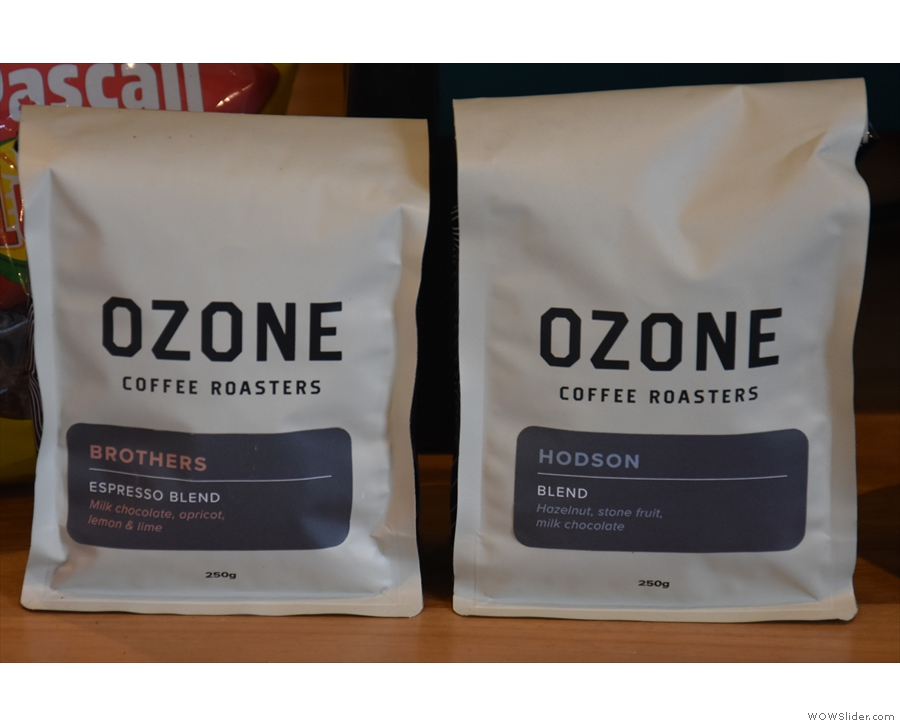 The house blend is the Hodson, by the way. The Brothers is for retail. Talking of which...