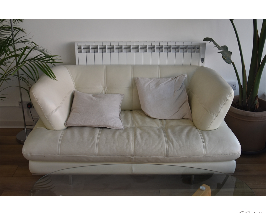 And the sofa itself, in all its glory.