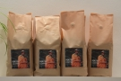 Bags of the house coffee, from the Mayni indigenous people, roasted by Easy José...