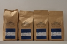 ... line up behind the counter with bags of the guest, the Los Nogales Natural.