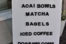 Interesting notice board.