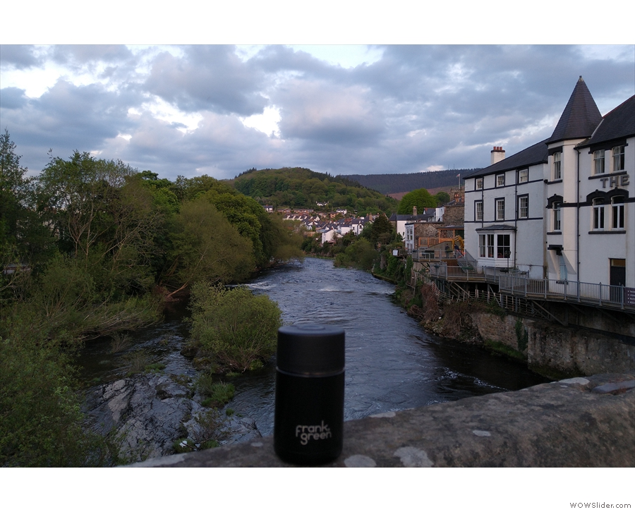 ... a very similar view, taken in by my Frank Green Ceramic when I last visited in May.