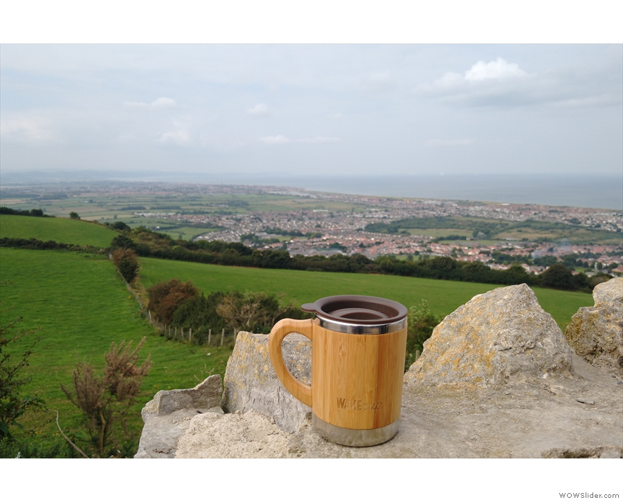 The next morning we were on our way to Prestatyn, seen here from Gwaenysgor.