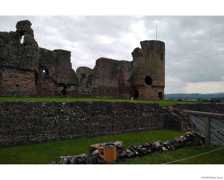 Then it was on to the once mighty Rhuddlan Castle, part of Edward I's occupation.