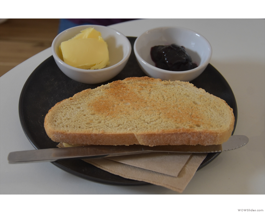 ... and toast and jam.