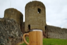 ... and even the gatehouse needs propping up by my Global WAKEcup!