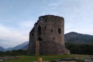 This is a view of the massive keep from the other side, while here's...