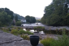 Then it was down into Llangollen itself, with a view upstream...