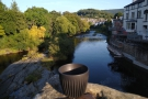 The obligatory view downstream from Llangollen Bridge and, for good measure...