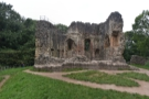 Then, on the way back, we stopped at Ewloe Castle, built by the Welsh princes...