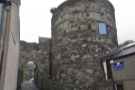 ... old postern gate which leads to the harbour. This is the view if you come in that way.