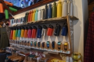 Amongst all the outdoor gear, Rumdoodles has a retail section dedicated to reusable cups.