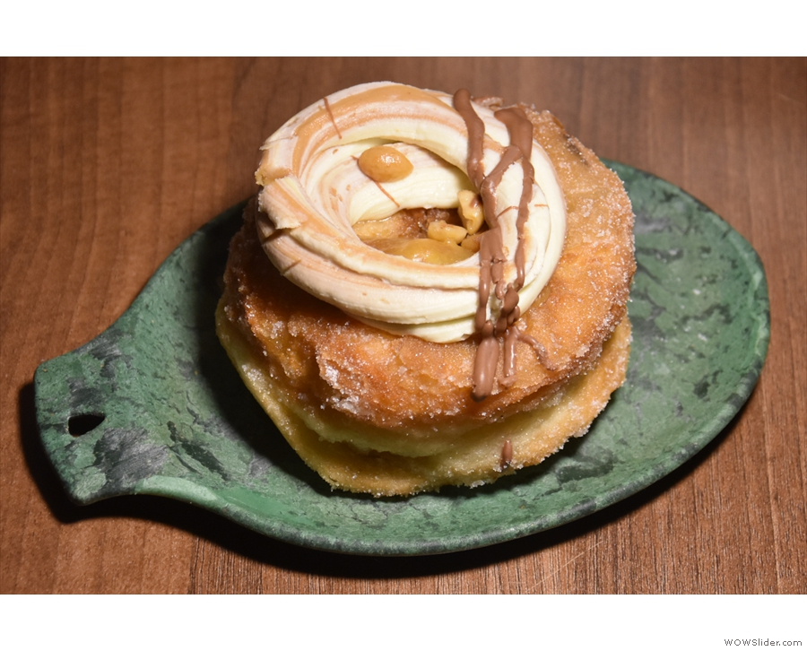 ... and a snickers cronut to enjoy that evening, which is where I'll leave you.