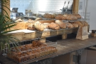 All the bread is baked on site (behind that mirror in fact)...