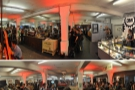 Two views of the (organised) chaos that it the True Artisan Pop-up Cafe...
