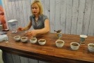 The nice folks at Brita organised a coffee-cupping, but I was more interested in the free water!